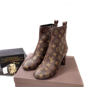 acheter shoes women louis vuitton classic flower bottes